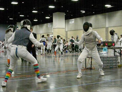 Flaming Blades Duel in Tennessee