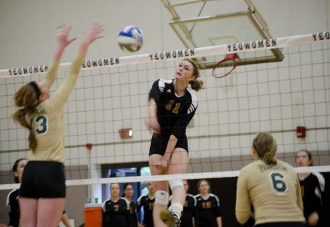 Volleyball Drops Games to DePauw, Manchester