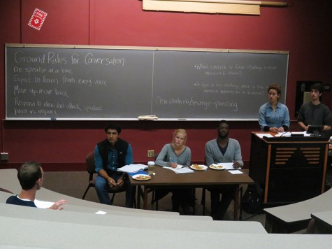 Committee, Students Discuss Strategic Plan