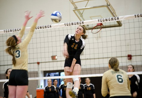 Volleyball Takes 6th Place at NCAC Tournament