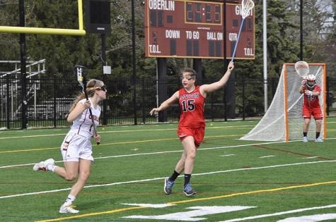 Denison Big Red Spoils Senior Day for Women's Lacrosse