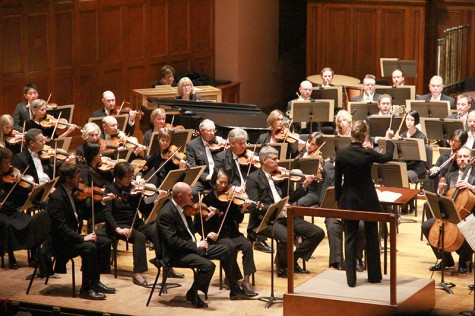 Mälkki, Denk Debut with the Cleveland Orchestra in Finney Chapel