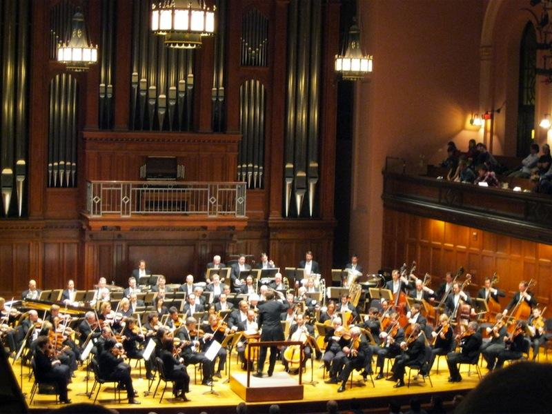 The Cleveland Orchestra visited Oberlin last weekend.