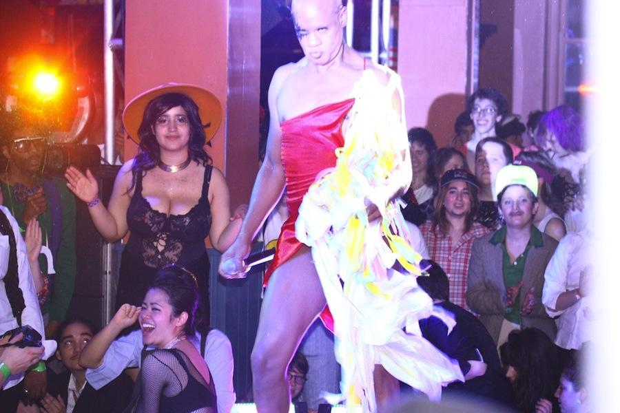 Once the show got started, Drag Ball lived up to the hype.