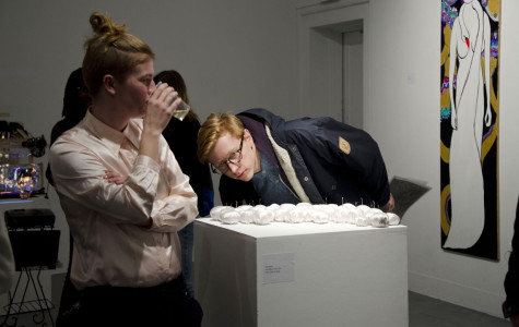 Senior Studio Half-Time Show Amps Anticipation for Spring Exhibitions