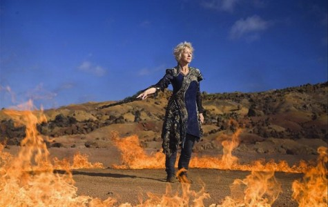 The foxiest 65-year old in Hollywood commands the elements as Prospera in Julie Taymor's adaptation of Shakespeare's
