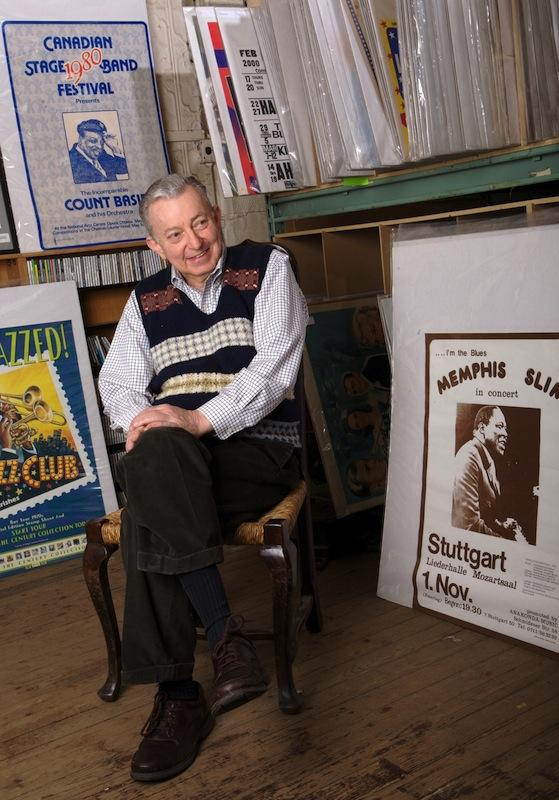 """James Neumann, OC '58, has amassed the largest collection of jazz records in North America, which he says creates """"a total picture of how the music grew and flourished, from the earliest New Orleans music all the way to the avant-garde."""""""