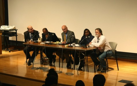 A group of Oberlin and Ohio educations and education experts discussed the film Waiting for