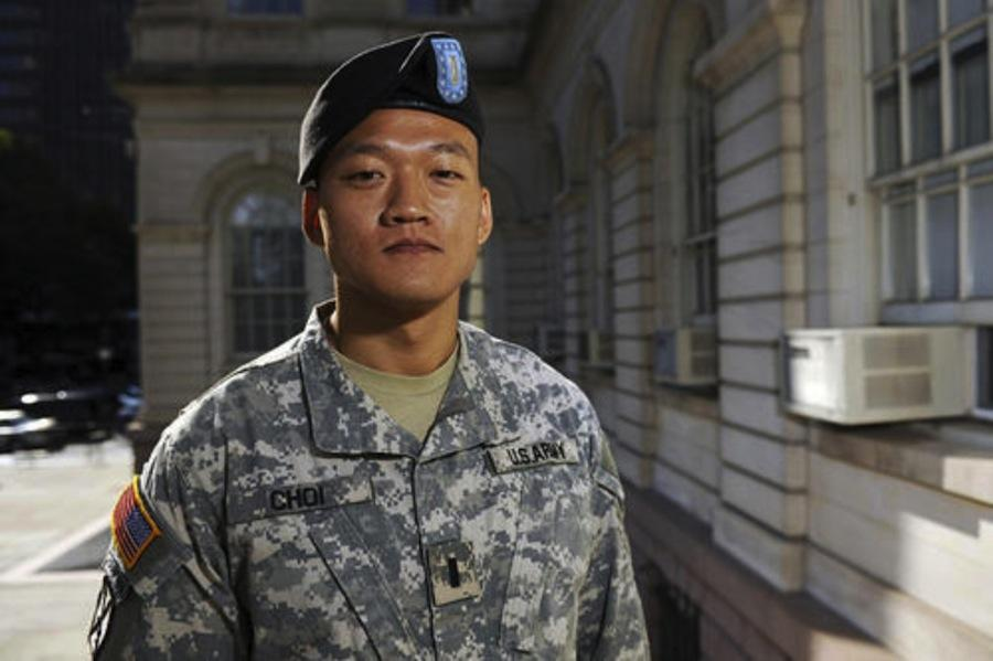 Lt. Dan Choi will speak in Finney on Feb. 14 about his experiences fighting against