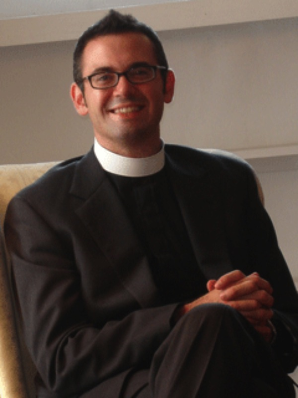 Reverend Greg McGonigle Director of the Office of Religious and Spiritual Life.