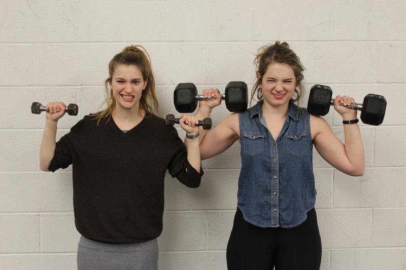 Phoebe Hammer (left) and Simone Brodner