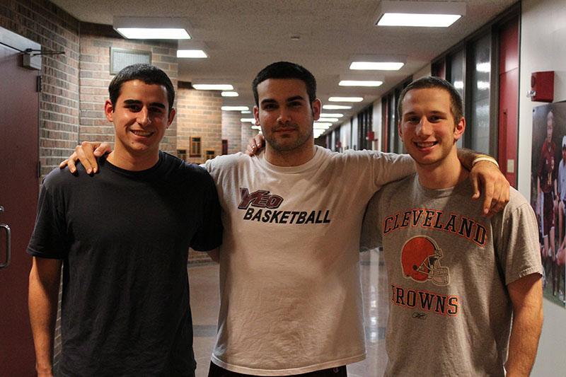 Jeff Schweighoffer, Danny Baldocchi and Mitch Novak
