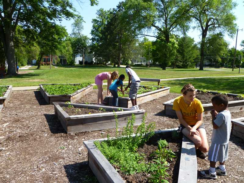 Oberlin Community Service volunteers teach the greater Oberlin community about gardening and the growth of sustainable food. OCS will launch the new Plant a Row program this spring.