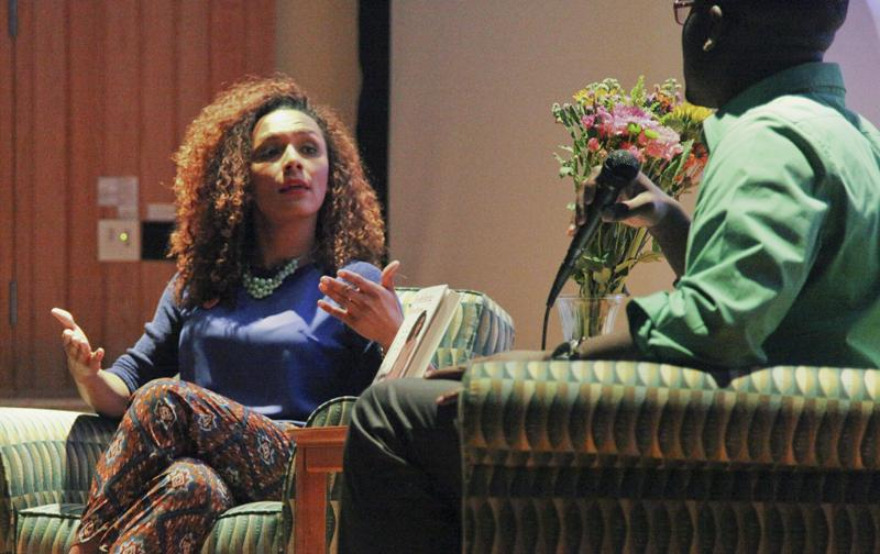 """American trans* rights activist, author and former staff editor of People magazine's website visited Oberlin on Tuesday as a part of her """"Redefining Realness"""" book tour. During her talk, Mock discussed her experience as a trans woman of color and a best-selling author."""