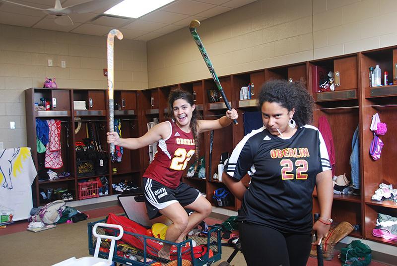 Rachel Zuckerman (left) and Megan Bautista