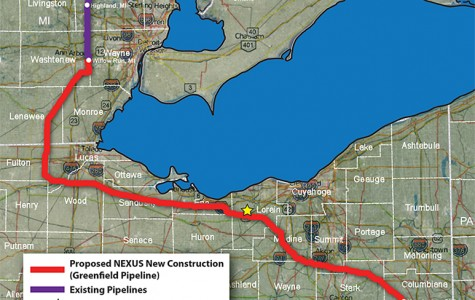 Pipeline to Transport Gas through Oberlin