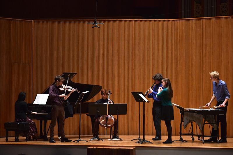 A select handful of top Conservatory students perform at the Danenberg Honors recital. The annual concert took place at Warner Concert Hall this past weekend.
