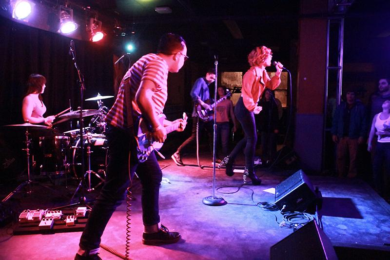 Priests rev it up with their Riot grrrl-influenced sound. The Washington, D.C. punks performed a handful of energetic cuts in addition to slow burners at the 'Sco on Monday.