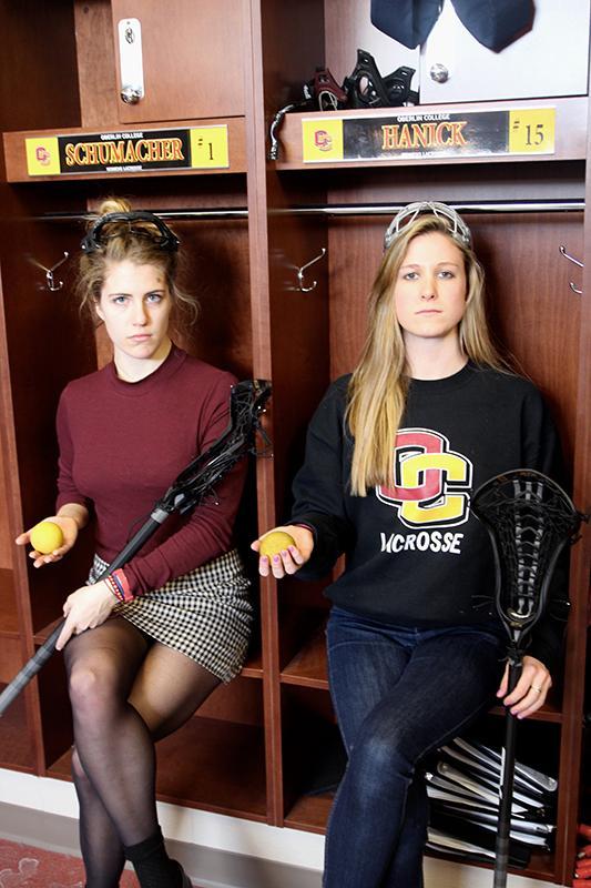 Bronwen Schumacher (left) and Kate Hanick