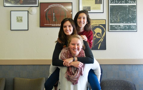 Mayada Audeh (top), Jackie McDermott and Sarah Hughes