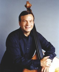 Tom Knific, professor of double bass and jazz guitar at Western Michigan University