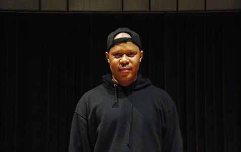 Steve Coleman, a renowned saxophonist and improvisational composer, who played at the 'Sco and gave a master class on Wednesday