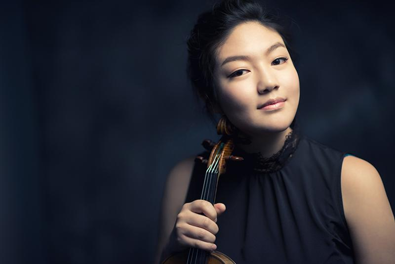 Jinjoo Cho, new teacher of violin. Cho has strong ties to the Cleveland music scene as a performer and educator.
