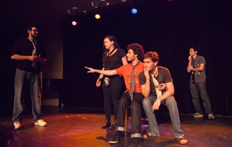 Feature Photo: Parents Weekend Improv Showcase