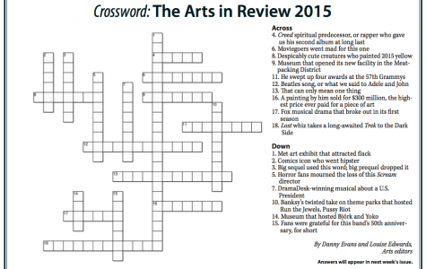 Crossword: The Arts in Review 2015