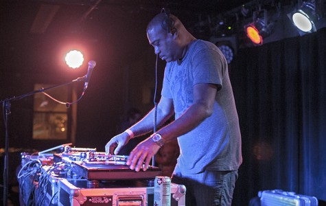 Detroit house music producer Mike Huckaby DJs at the 'Sco last Saturday. Both Huckaby and Japanese electronic musician Soichi Terada, for whom Huckaby opened, kept attendees dancing with lengthy but entertaining sets.