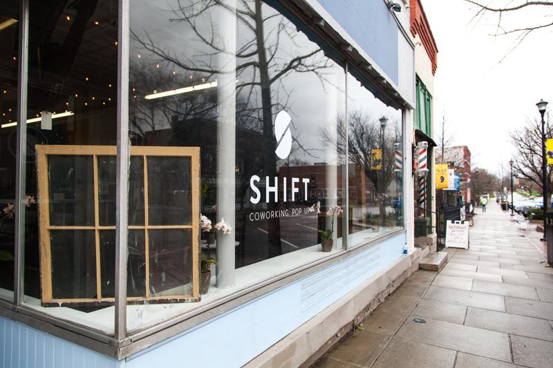 The Shift coworking space will remain open through the school year. There has been enthusiastic support for the pop-up project.