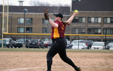 Softball Scores Conference Win