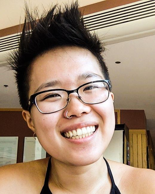 College senior Dana Fang won the Creative Writing department's Emma Howell Memorial Poetry Contest this year. They are the first femme of color and the first Asian American to win the $1,000 prize.