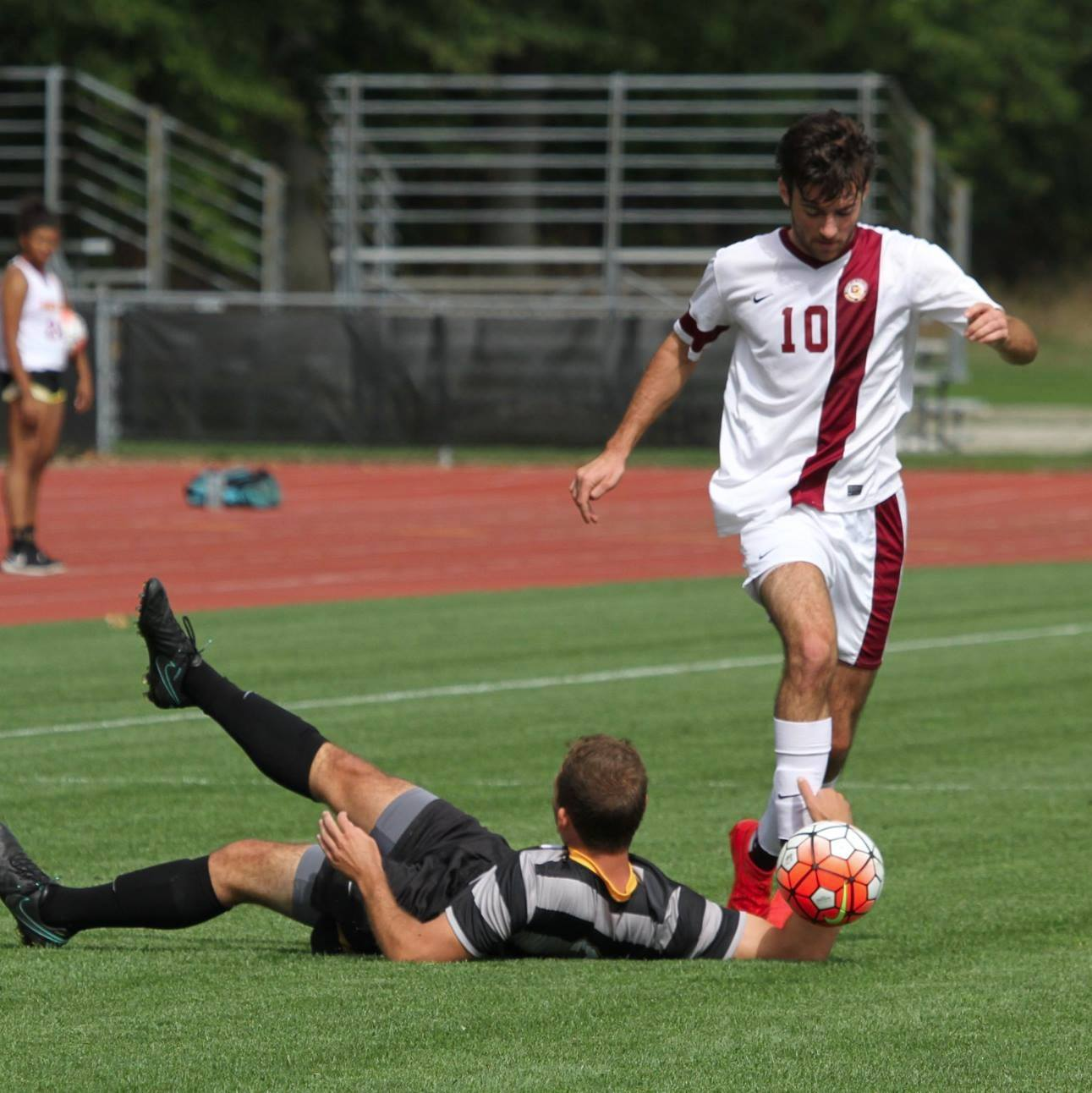 Senior midfielder Nick Wertman was named the North Coast Athletic Conference Men's Soccer Player of the Week after scoring two game-winning goals last week. The Yeomen are currently 7–1–1.