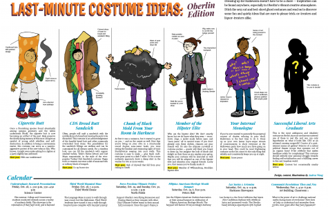 Last-Minute Costume Ideas: Oberlin Edition