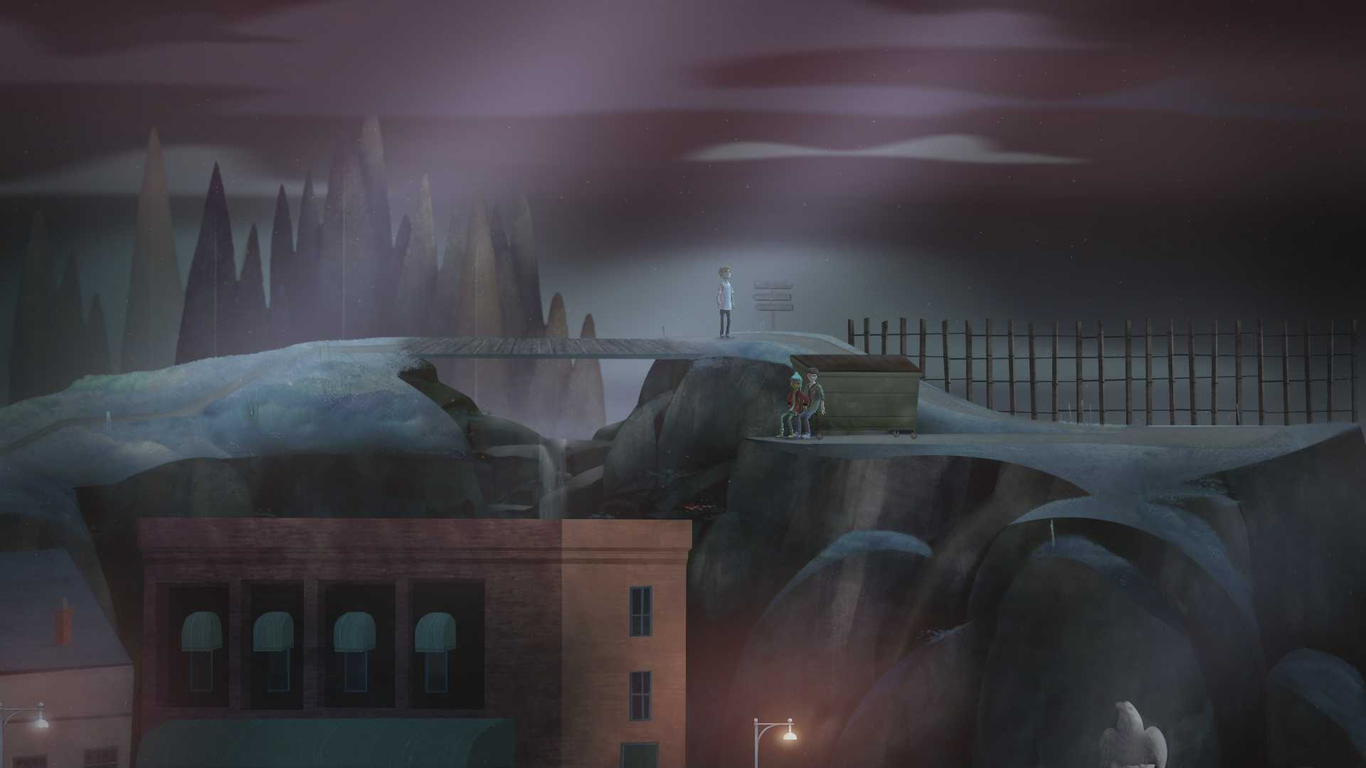 Oxenfree, Night School Studio's latest independent release, is an old-school '80s-style horror thriller with a strong emotional foundation and a focus on dialogue.