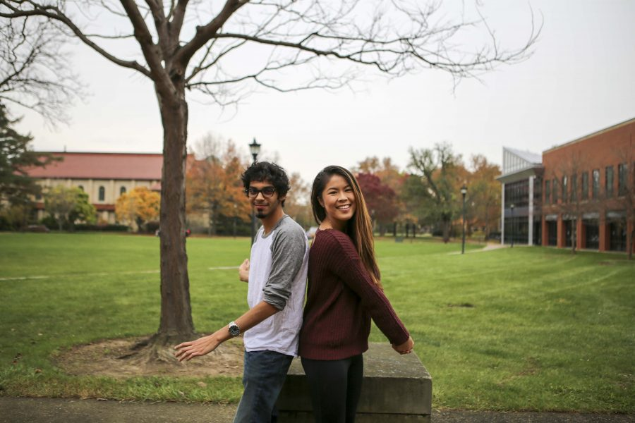 Samir Husain (left) and Elayne Zhou
