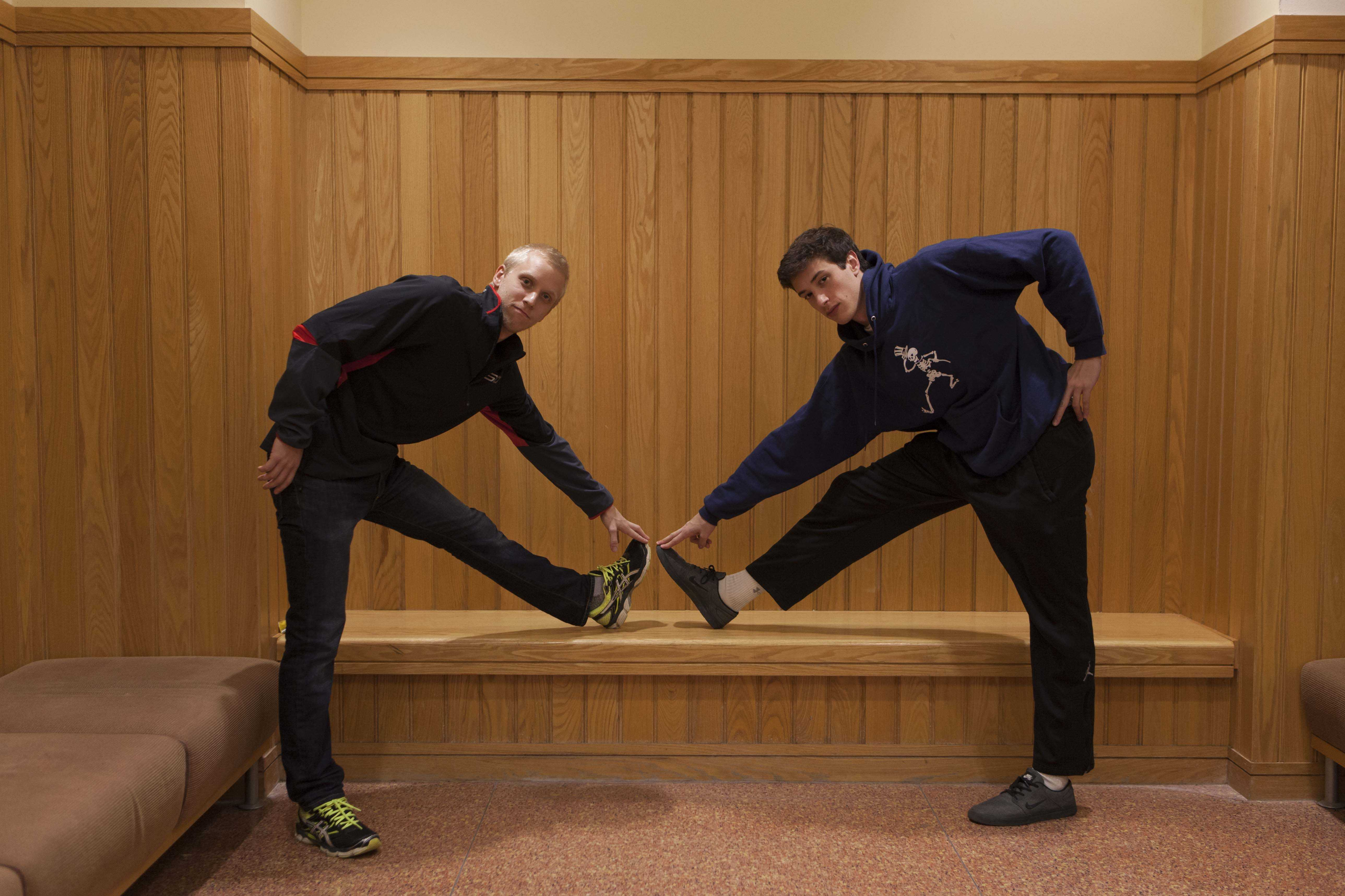 Scott Miller (left) and Eli Silverman-Lloyd