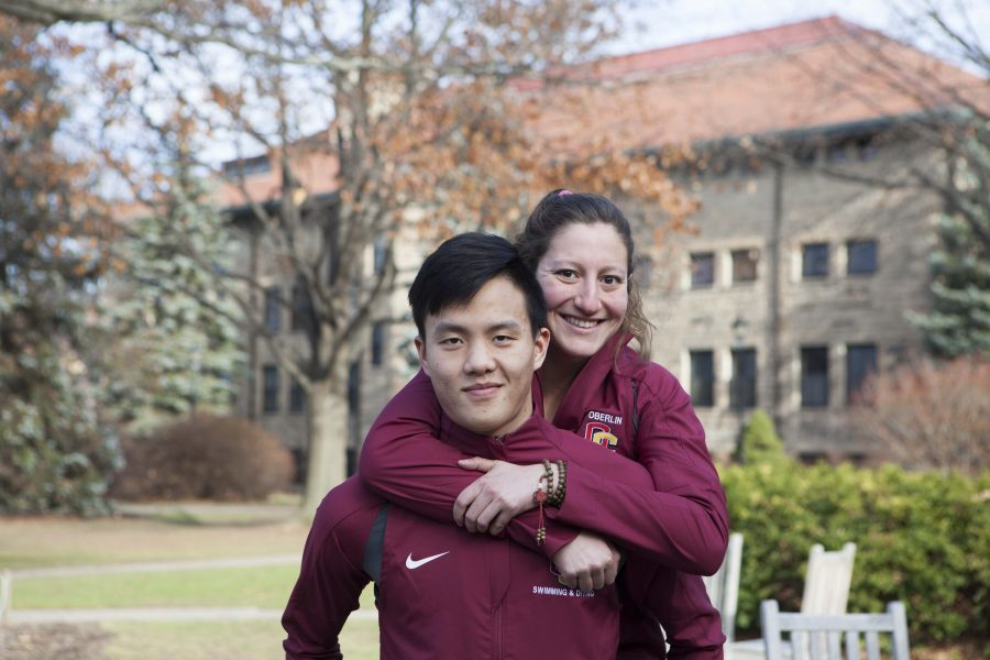 Michael Lin (left) and Devyn Malouf