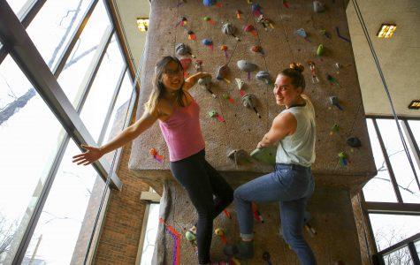 Mel Xu (left) and Katie Rigdon