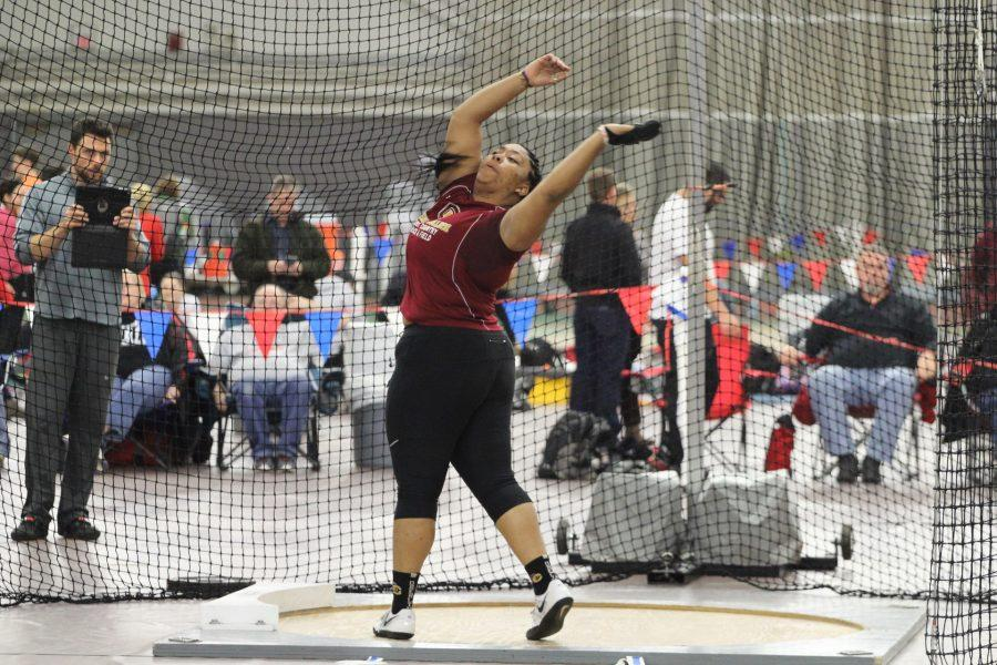 Junior+Ana+Richardson+was+named+the+NCAC+Field+Athlete+of+the+Week+after+winning+the+women%E2%80%99s+weight+throw+in+the+All-Ohio+Championships+last+Saturday.