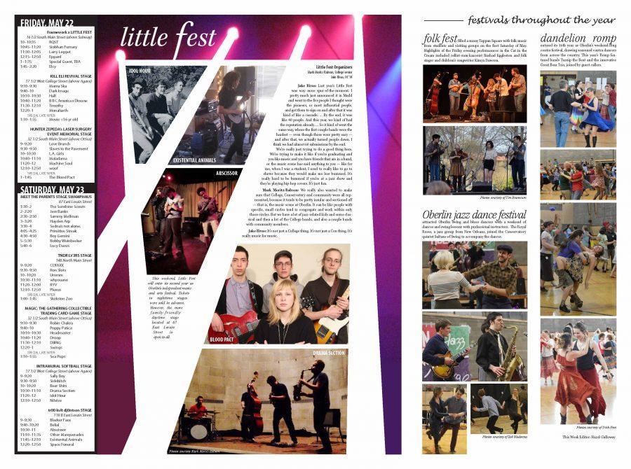 Commencement 2015 II: Music Festivals