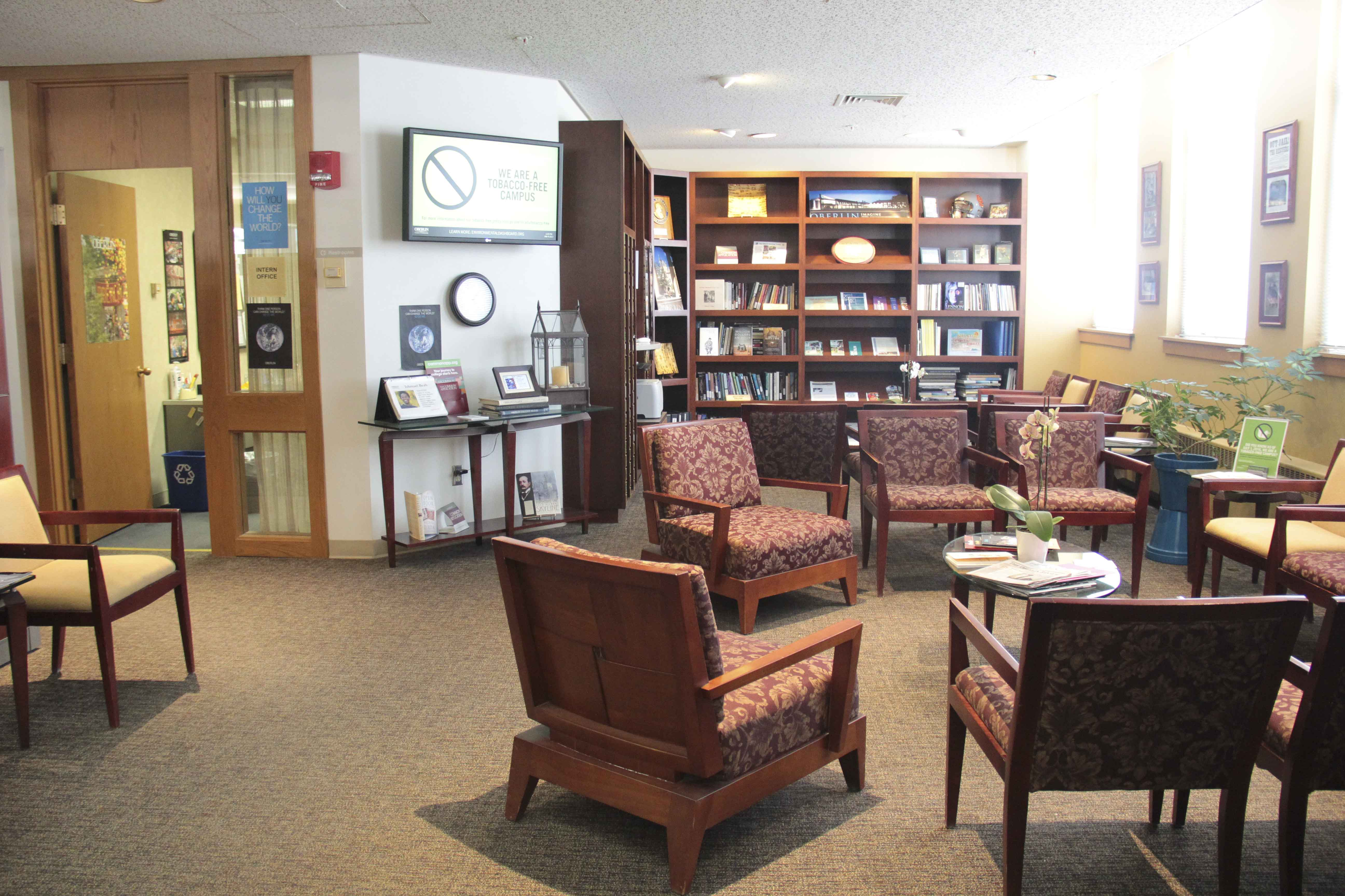 The Admissions office, located on the first floor of the Carnegie Building, will move to the Peter B. Lewis Gateway Center. Some functions of the the Dean of Studies office will be incorporated into a new Academic Advising Resource Center in the former admissions space .