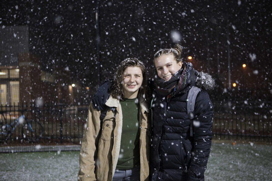Liz Amber (left) and Mia Battle