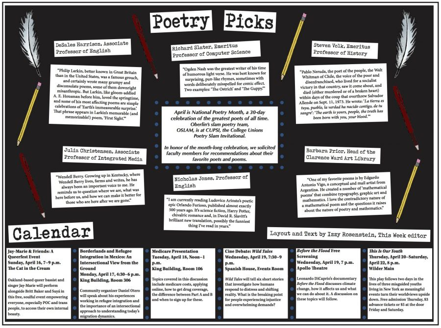 Poetry Picks