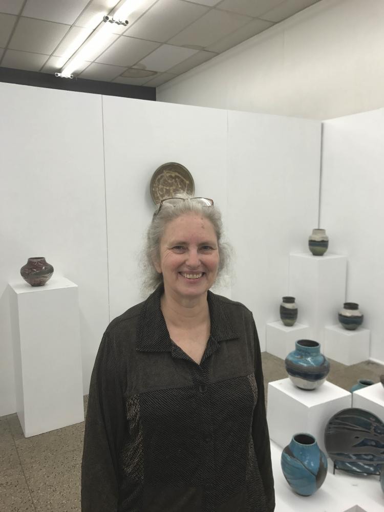 Liz Burgess, owner of Ginko Gallery.