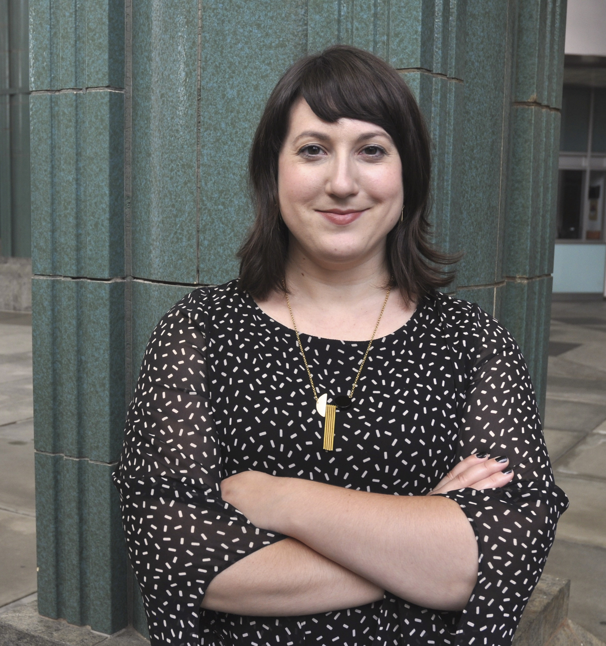 Andrea Gyorody was recently hired as the Ellen Johnson '33 assistant curator of modern and contemporary art.