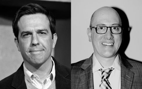 "Ed Helms, OC '96, and Daniel Radosh, OC '91, returned to campus Sunday to give a convocation titled ""What's the Point of Comedy? (And other pointless questions),"" which featured a frank discussion of satire, its boundaries and its current role in American society."