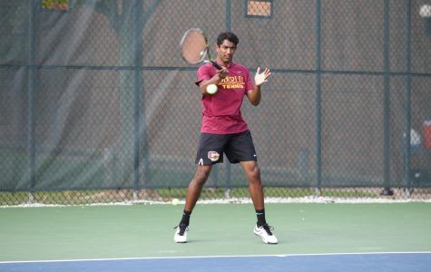 Tennis Downs Denison at NCACs