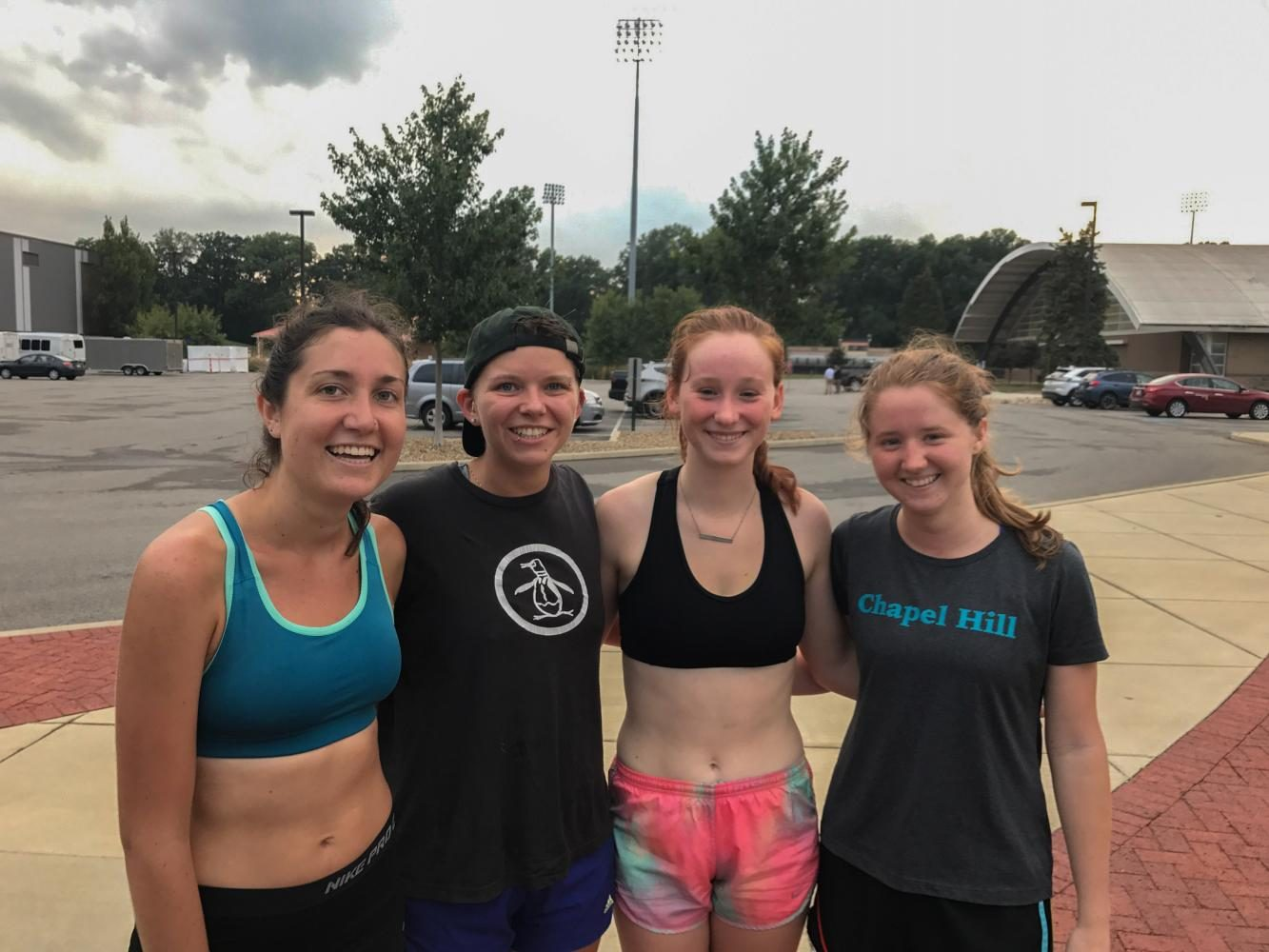 ITLR – From left to right: Joy Castro-Wehr, Abby Bellows, Julia Denlinger, Rosie Kerwin